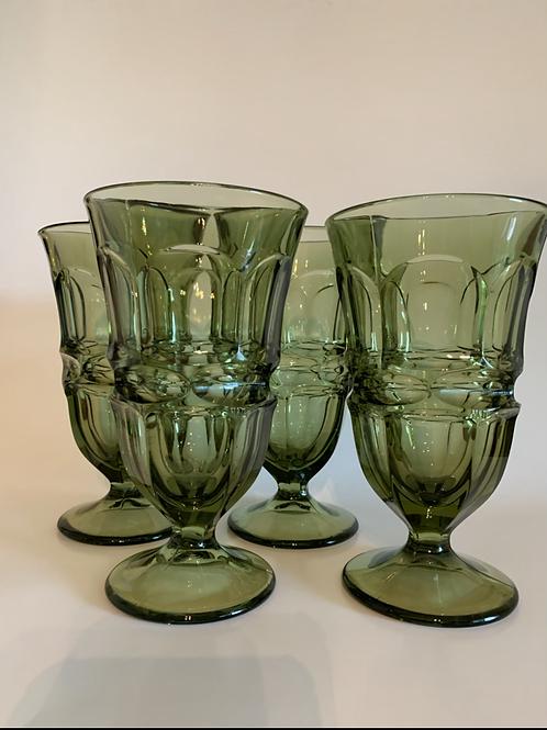 Vintage Fostoria goblet set