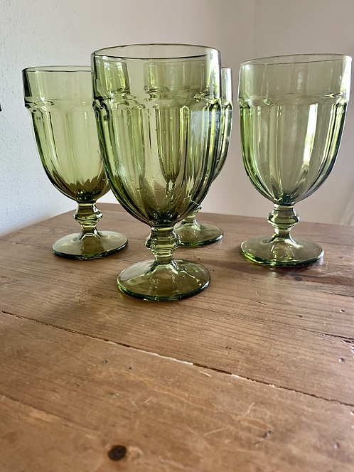 Vintage Libby Gibraltar ice tea goblets