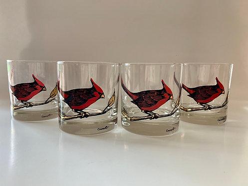 Couroc Cardinal Rock Glasses