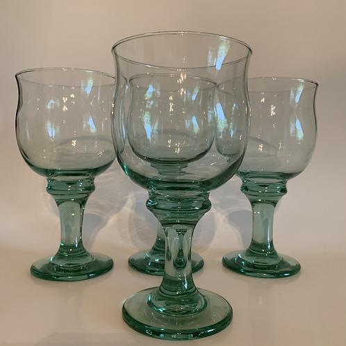 Vintage Libbey goblet set