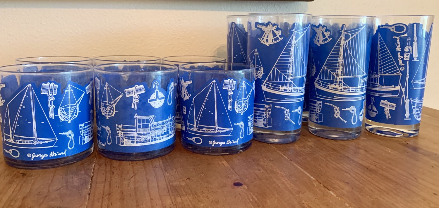 Thumbnail: Georges Briard Nautical Set