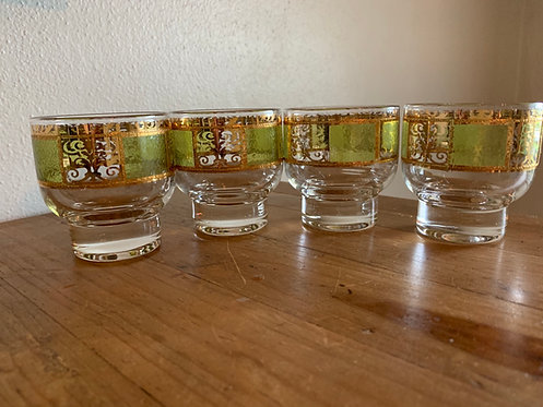 Culver Green 22k Gold Prado Glasses