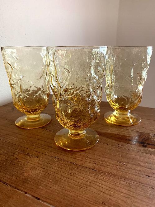 Vintage Morgantown Seneca goblets