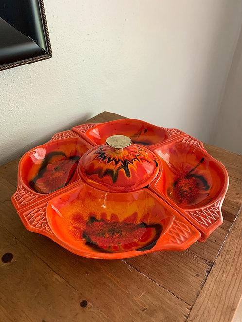 California Ceramic Snack Tray