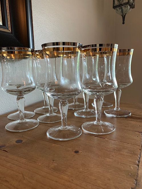 Silver and Gold Goblets