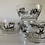 Thumbnail: Vintage Libbey Curio small snack bowls