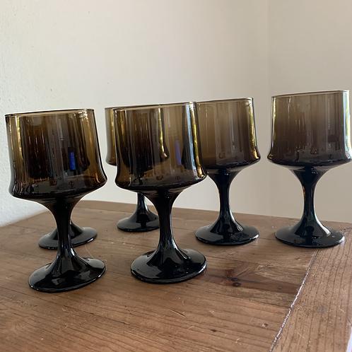 Vintage BOHO goblet set