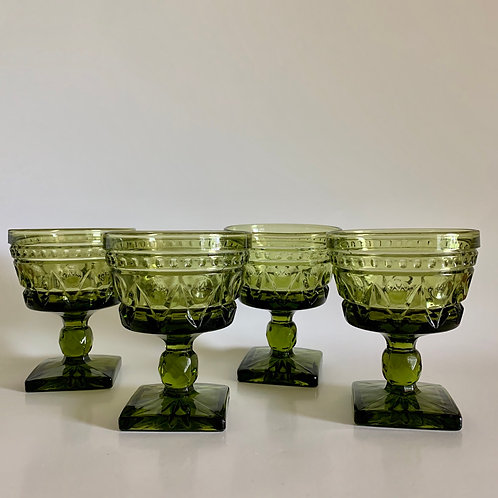 Vintage Colony Park goblet set