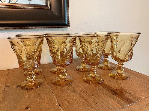 Vintage Fostoria Jamestown goblets