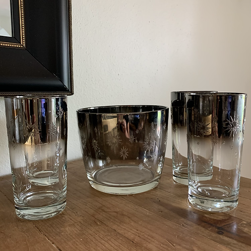Mid Century Modern Atomic cocktail set