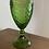Thumbnail: Vintage inspired green wine goblets