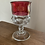 Thumbnail: Vintage Tiffin Kings Crown goblets