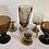 Thumbnail: Vintage mixed brown and mocha goblets