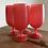 Thumbnail: Mid Century Modern Blendo glass set
