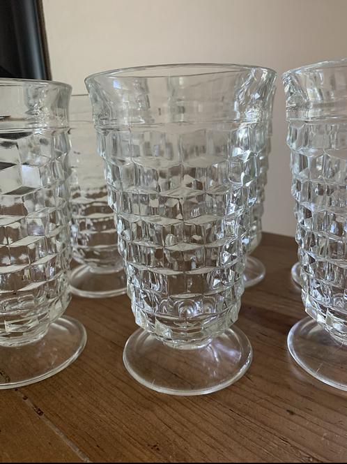 Vintage Colony Glass Ice Tea goblets
