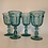 Thumbnail: Vintage Imperial glass goblet set