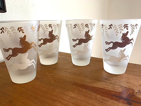 Libbey Cavalcade rock glasses