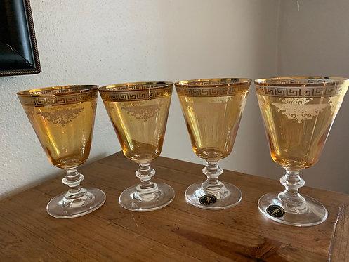 Italian Glass Goblets