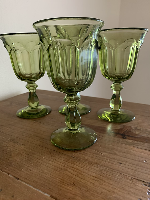 Vintage Imperial Glass Goblets