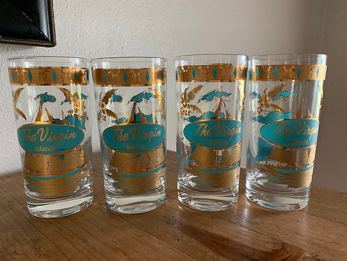 The Virgin Islands Tall Glass Set