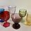 Thumbnail: Vintage mixed goblets set