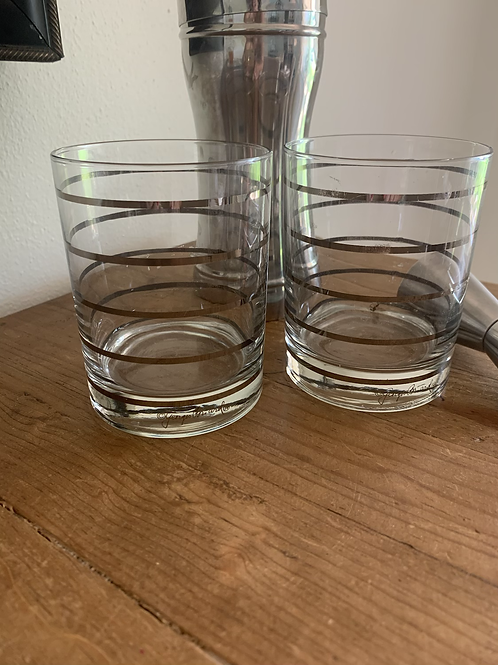 Georges Briard double rock glasses