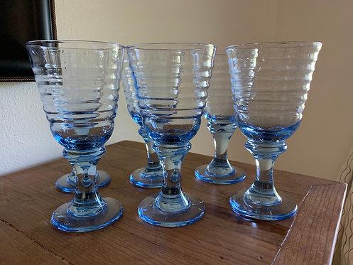 Vintage Libbey Sirrus goblet Set