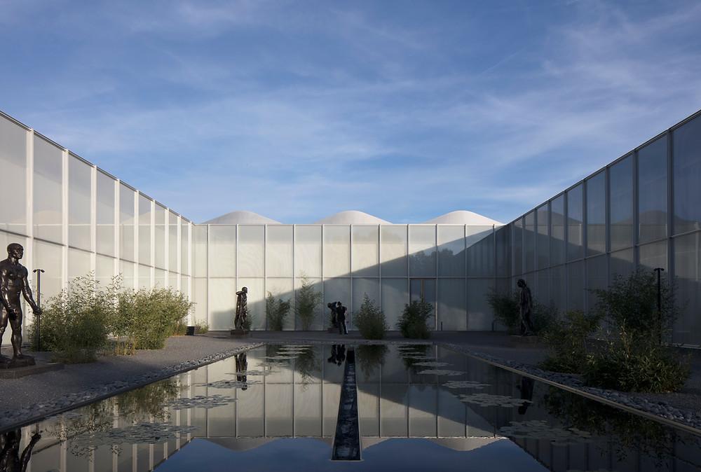 North Carolina Museum of Art Rodin Courtyard