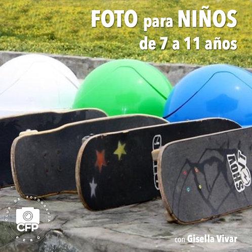 Foto para NIÑOS de 7 a 11