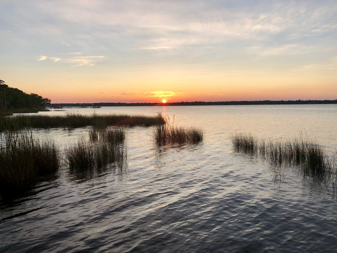 Sunset of the St. Johns River