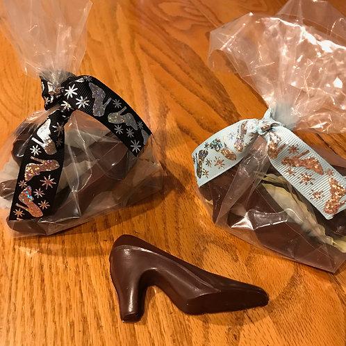 MILK CHOCOLATE SHOES (FOUR PER BAG)