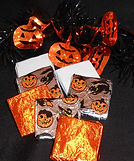 Foil Wrapped Halloween Squares, 2013..jpg