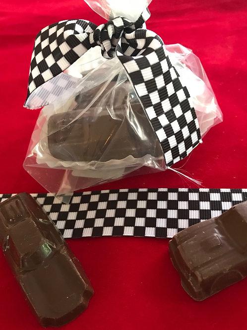 SOY FREE MILK CHOCOLATE CARS! (Five per bag)