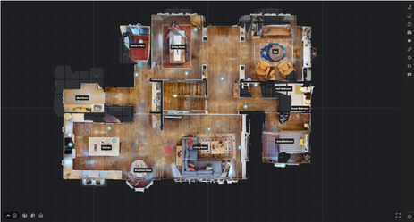 Get a better look at the overall space with a virtual floorplan