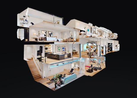 See the entire house like no regular photo can show