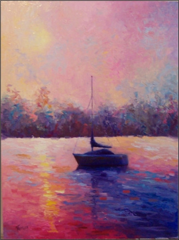 early_morning_solitude___36x48__oil_on_board__paintings_of_sailboats__florida_su