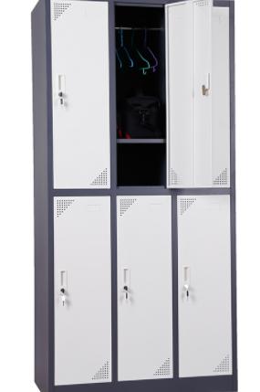 6-Door Uniform Locker