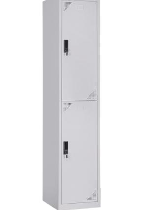 2-Tier Steel Locker