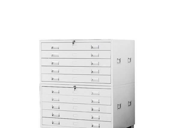 2 Map Cabinets
