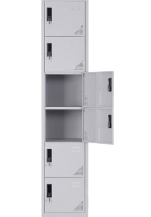 6-Tier Steel Locker