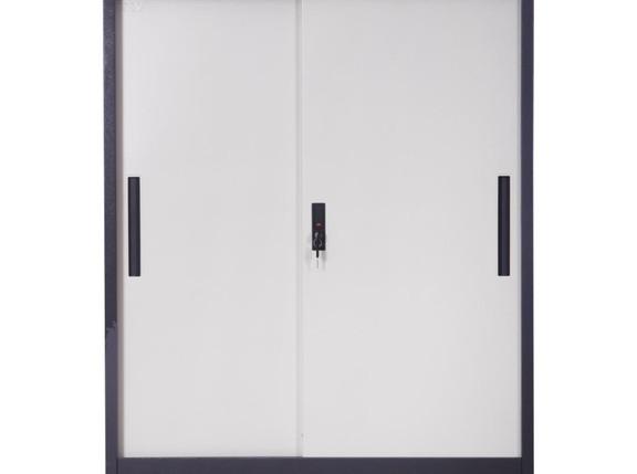 Medium Slide Metal Door Cupboard