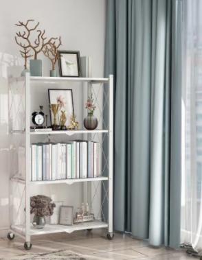 4-Tier Foldable Steel Shelf