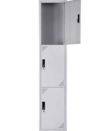 3-Tier Steel Locker