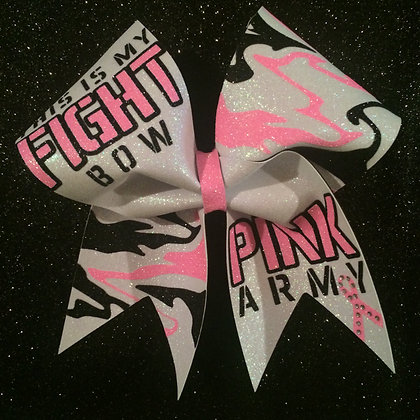 This is my FIGHT bow!