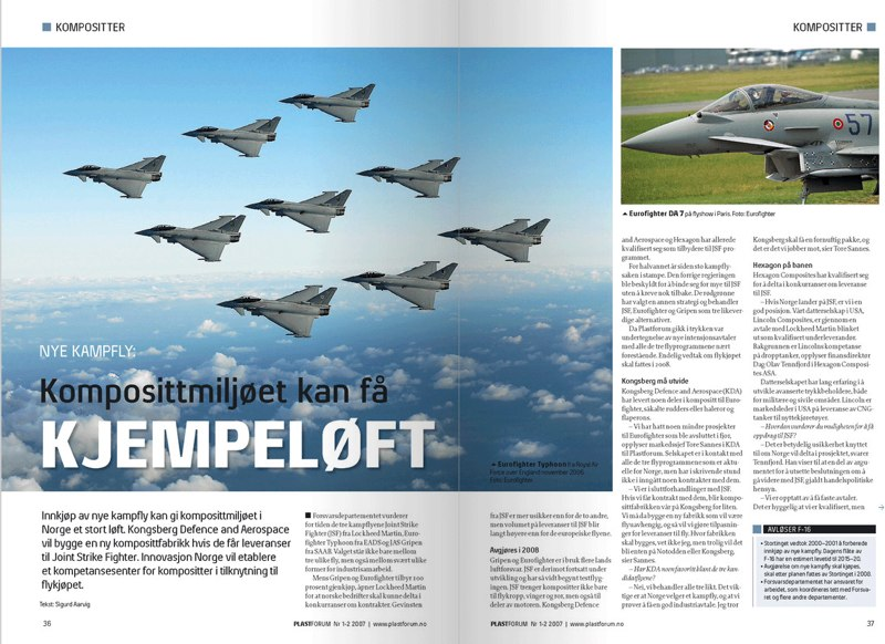 Plastforum Magazine - layout
