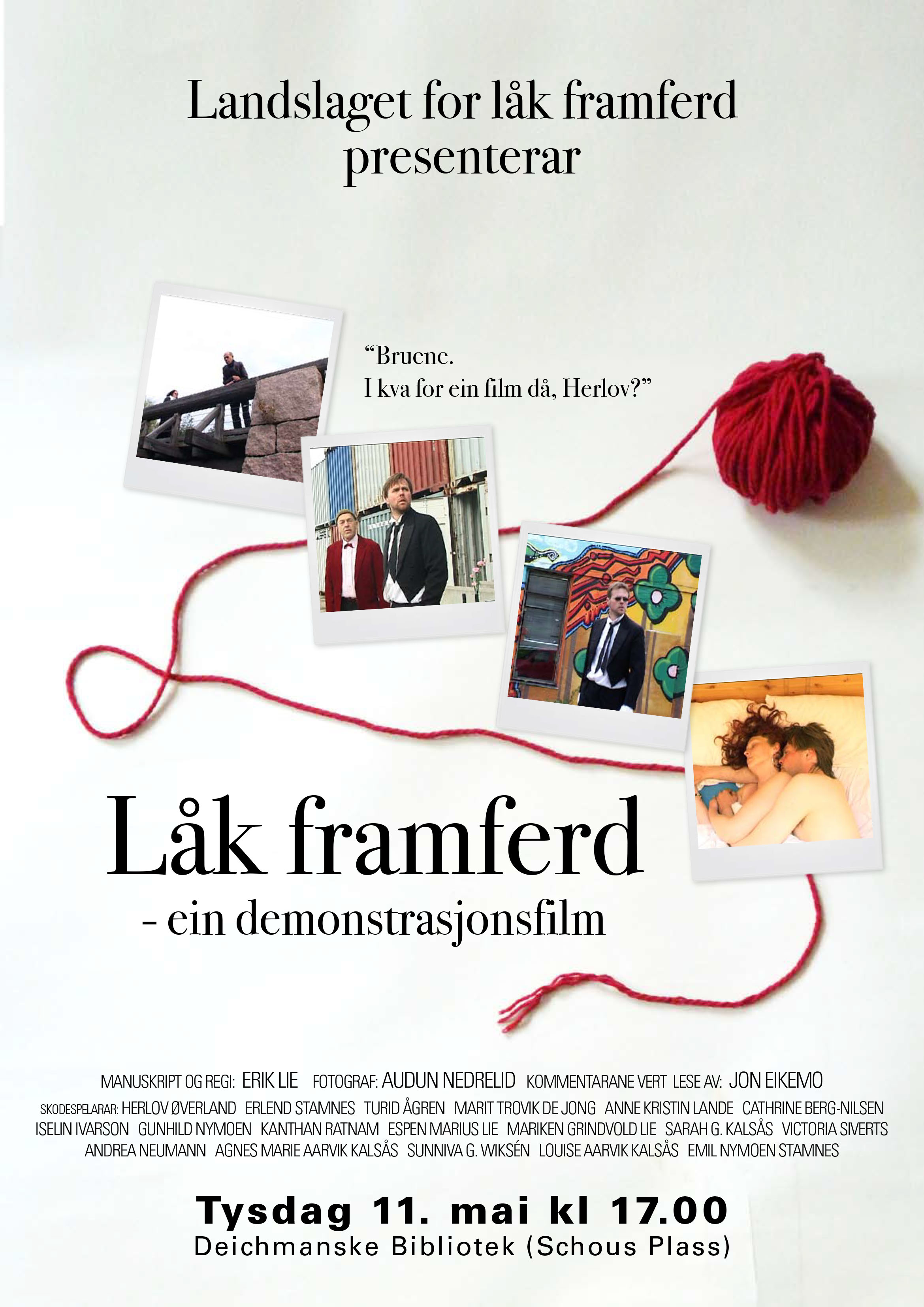 Filmposter - layout