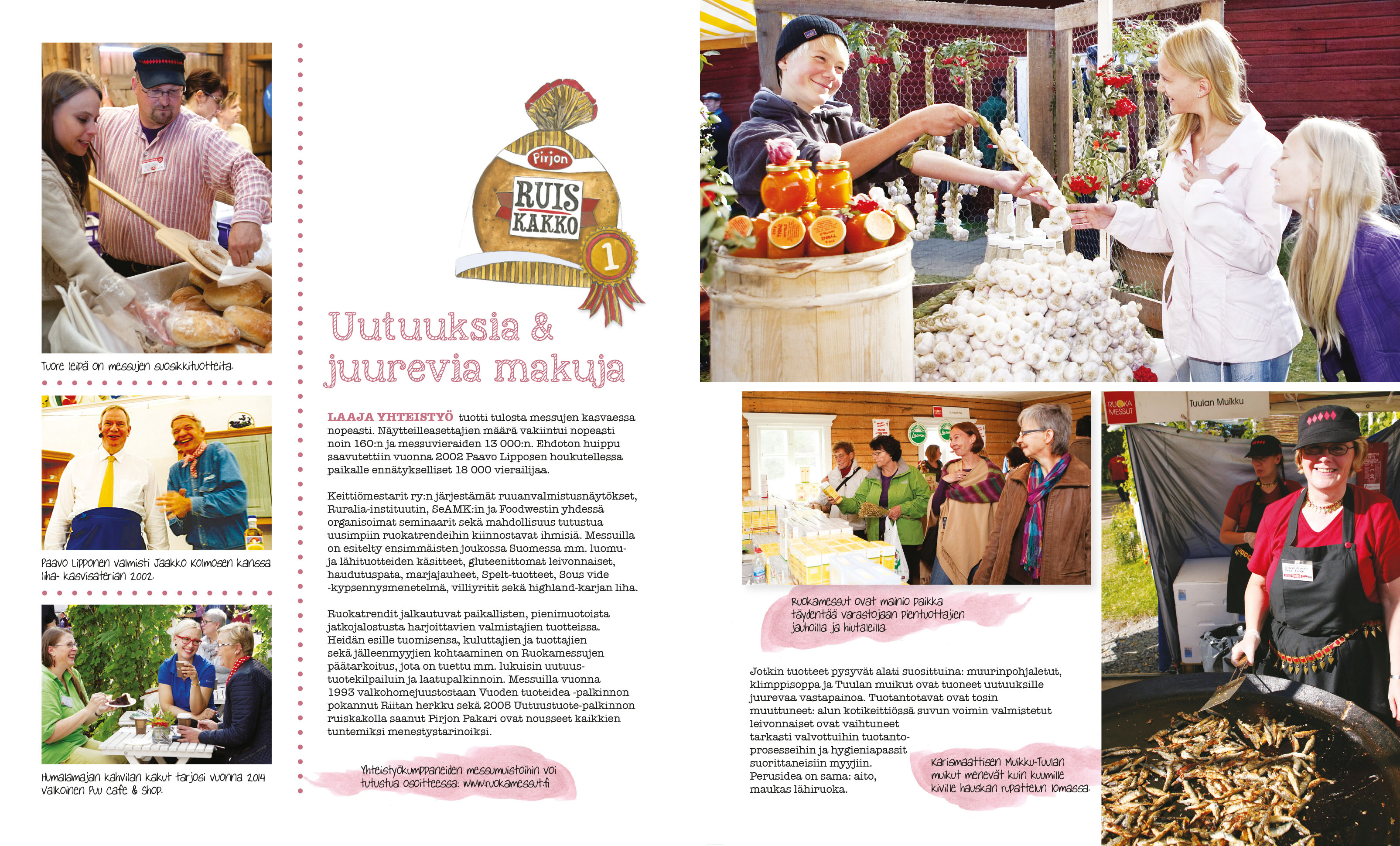 Brochure - layout & illustration