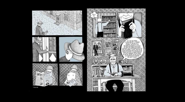 Faraway longing - Graphic novel - Illustration & Story