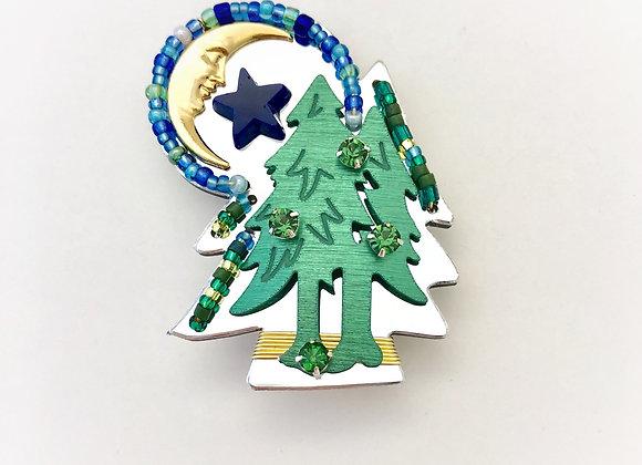 Peace Among the Pocono Pines Pin