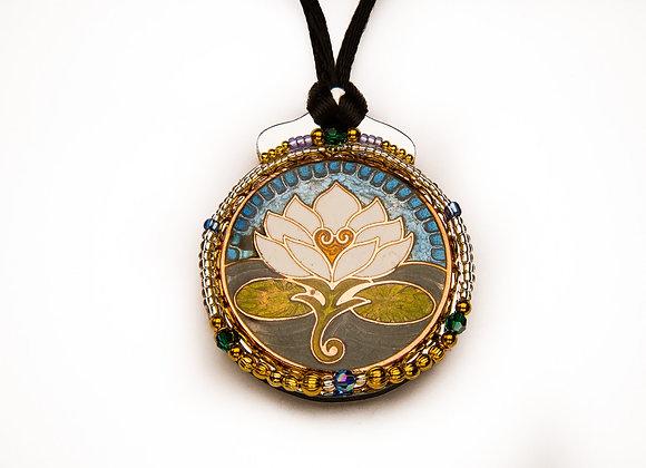 Botanical Pendant-Lotus